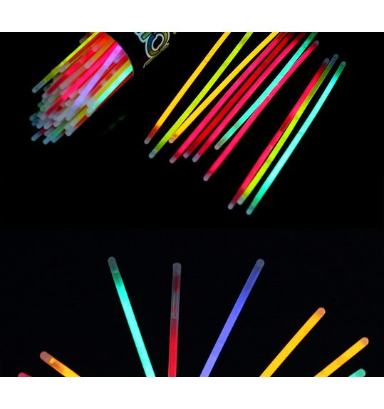 Box glowstick/bracelet 20 pieces