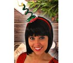 Christmas tree headband merry christmas