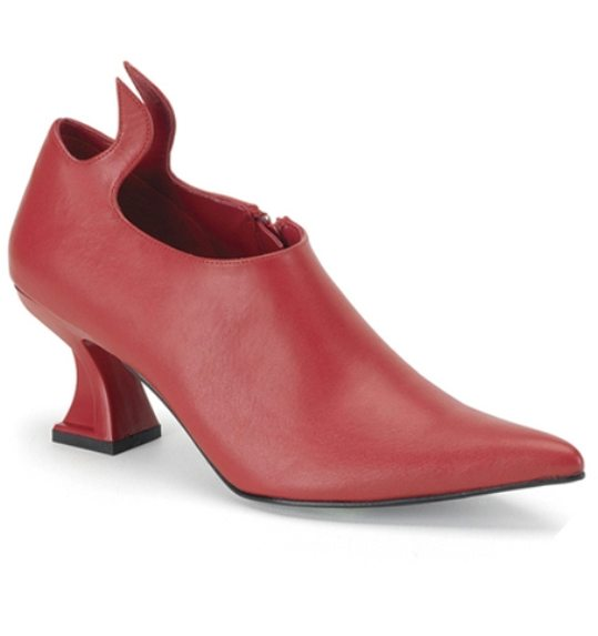 Red Devil shoes with heel