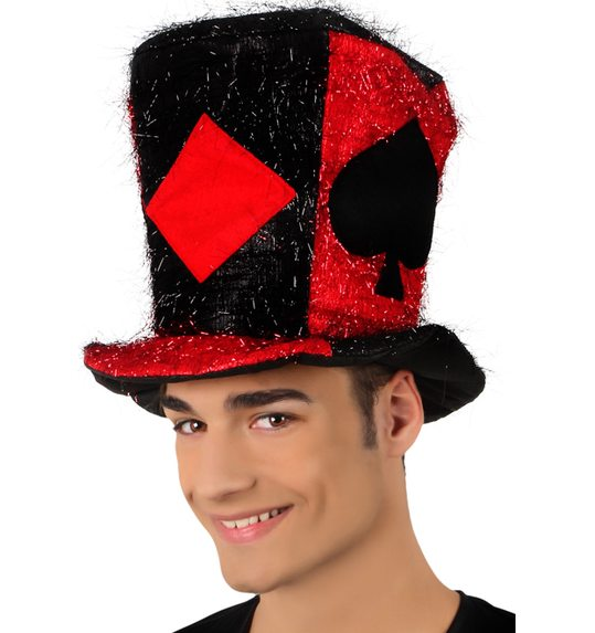 Red and Black Hat poker