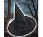Witch hat black adults