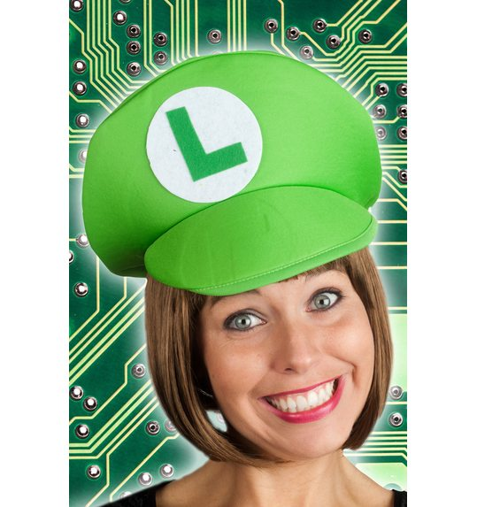 game hat green