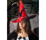 witch hat deluxe with veil