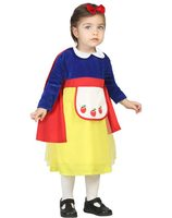 Baby dress up costume with cape snow white AT-24413/24414/24415