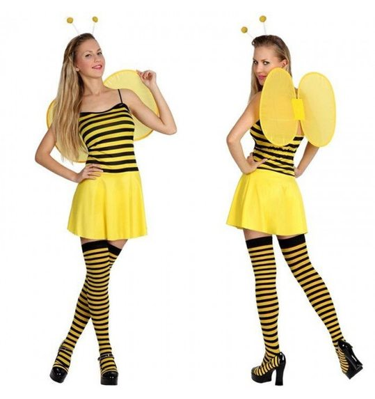 Bee dress up costume for ladies