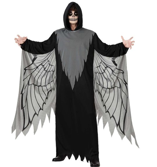 Black Angel halloween costume man T-2