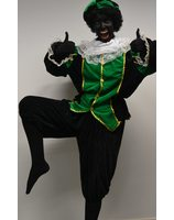 Black peter fancy dress eco Velvet lask0623