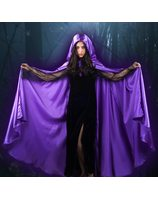 Cape satin purple LASK0443P
