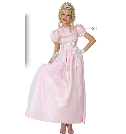 Fairy princess dress up costume pink