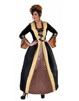 Marquise dress luxurious black with gold MA-215160