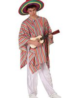 Mexican man suit and poncho size M-L AT-19539