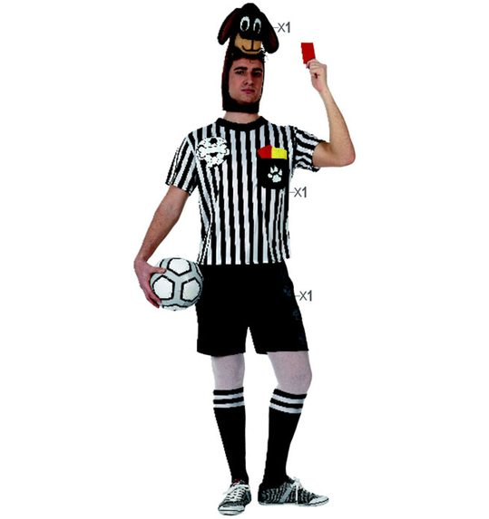 Referee dog costume