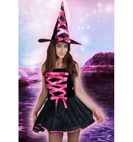 Sexy witch neon pink