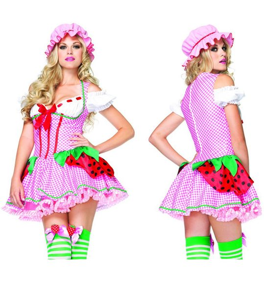 Berry beauty (costume sexy fraise)