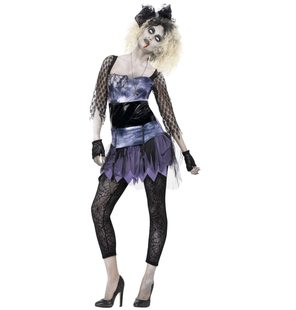 80s zombie ladies costume