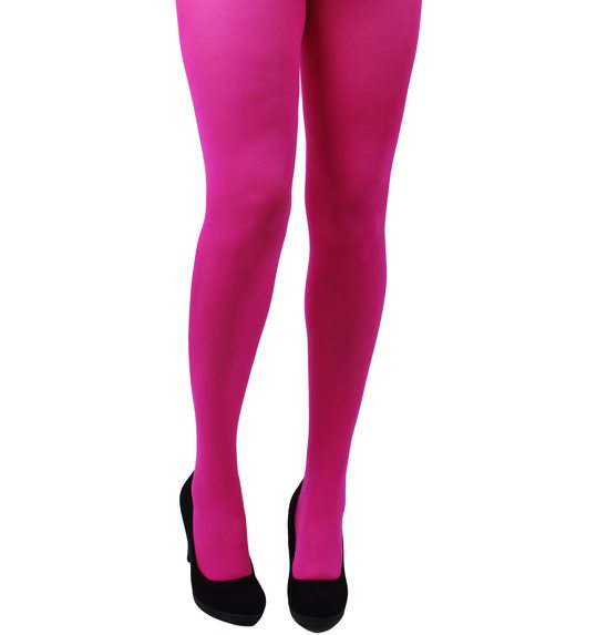 Collants  rose vif