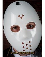 Masque de hockey blanc PWA2541