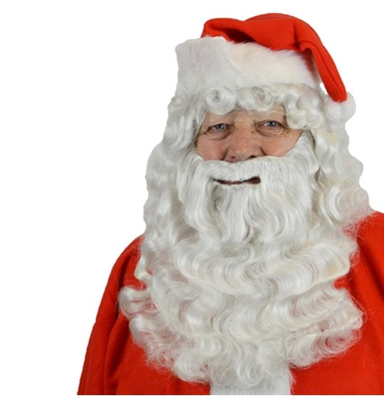 Beard set Santa Claus kanekalon