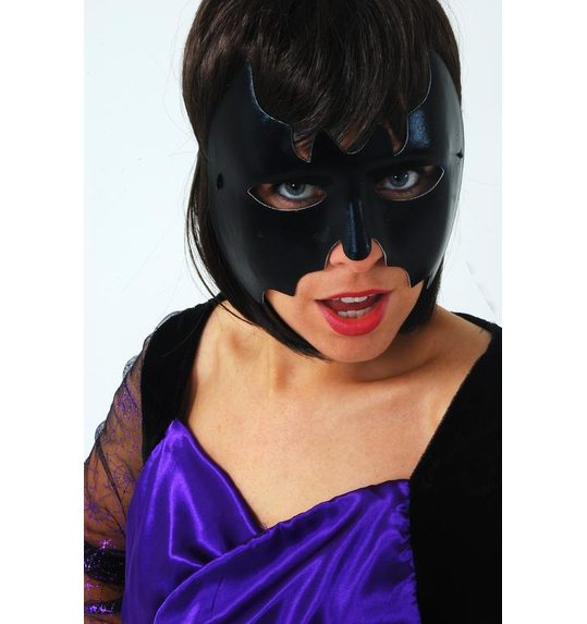 Black bat mask for men or woman