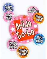 Bride to be Party brooches PWA4030