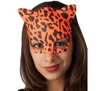 Cat mask with neon colors or black