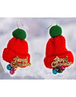 Christmas earrings PWA4085-MUTS