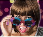 Colorfull disco glasses