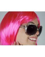 Fashion glasses Reptile light brown PWA0681-BR