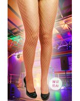 Fishnet stockings red PWA4157RO
