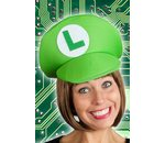 Game hat green Luigi