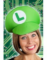 Game hat green Luigi PWA2517