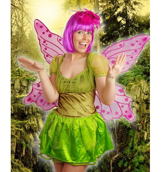 Great fairy or butterfly wings fuchsia