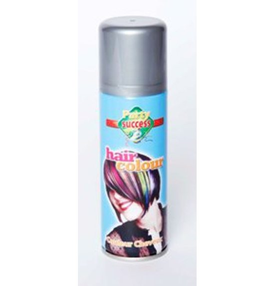 Hair color spray silver