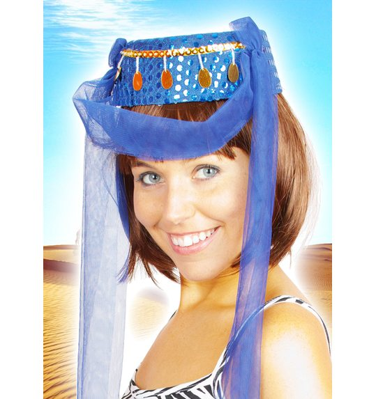 Harem Hat blue