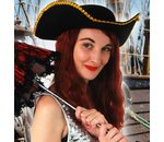 Hat pirate musketeer black