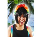 Hawai headgear with flowers