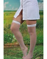 Knee stockings with garter PWA10130