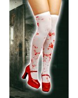 Knee tights with blood PWA3407