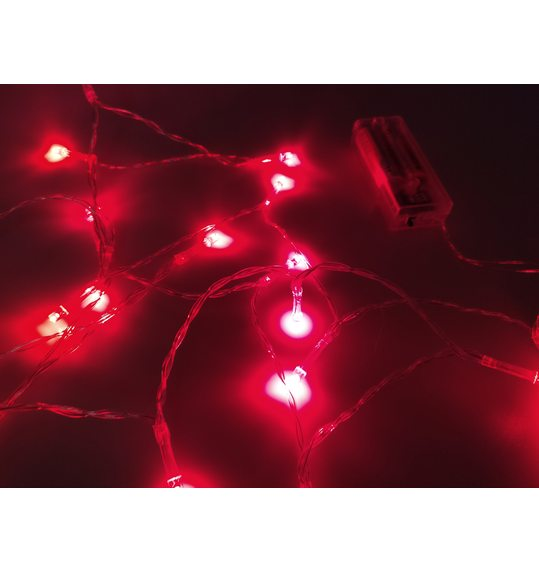 Led light red 2 meters