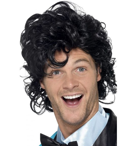 Luxury 80s wig  for men