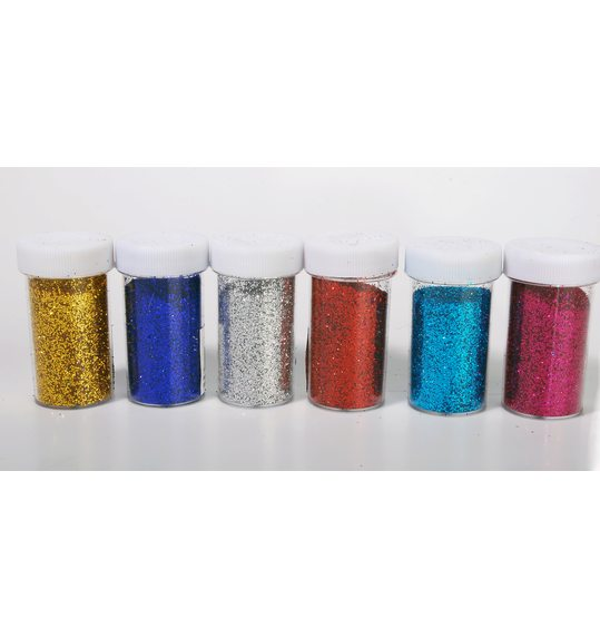 Makeup glitter powder different colors