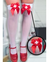Nurse Thigh High Stockings PWA0030
