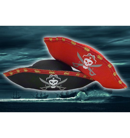 Pirate hat red