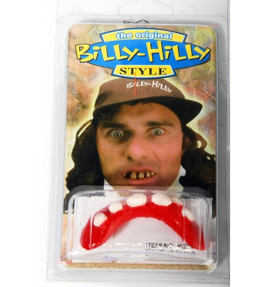 Plastic Hill Billy teeth
