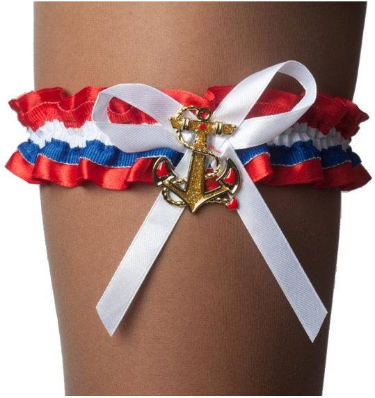 Sailor leggarter with bow and anchor
