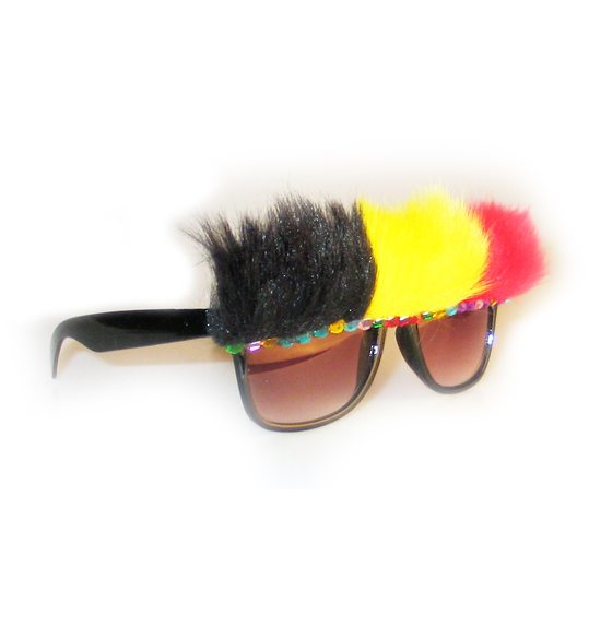 Supporter Belgium glasses