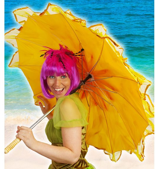 Umbrella luxury yellow