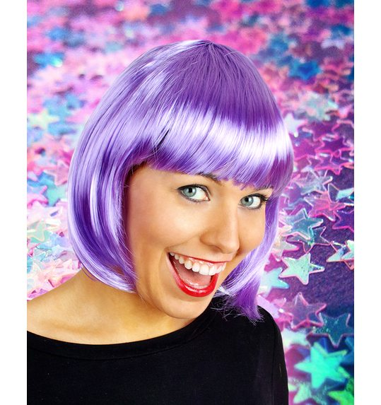 bob Wig Sophia Light Purple
