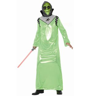 Alien dress up costume for adults
