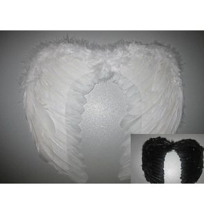 Angel Wings Small White